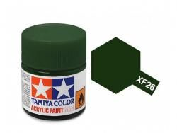 Tamiya Acrylic Mini XF-26 Deep Green