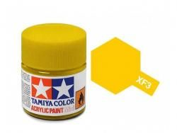 Tamiya Acrylic Mini XF-3 Flat Yellow