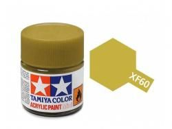 Tamiya Acrylic Mini XF-60 Dark Yellow