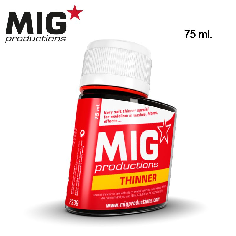 THINNER FOR WASHES, 75ML