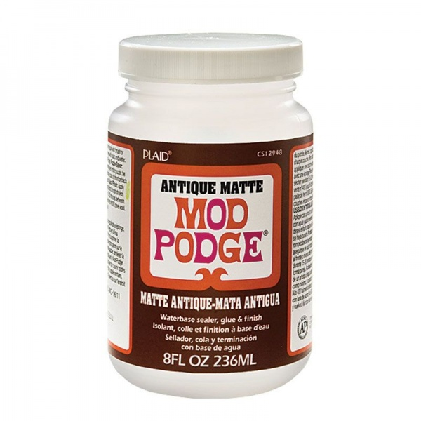 Mod Podge ANTIQUE MATTE, 8oz, 236ml