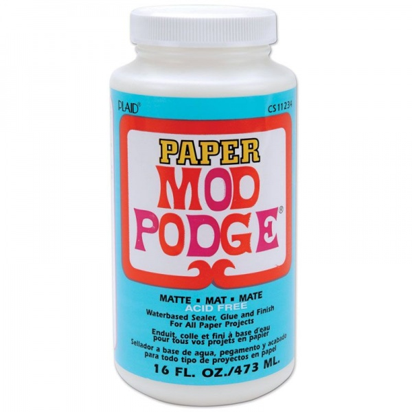 Mod Podge PAPER MATTE, 16oz, 473ml