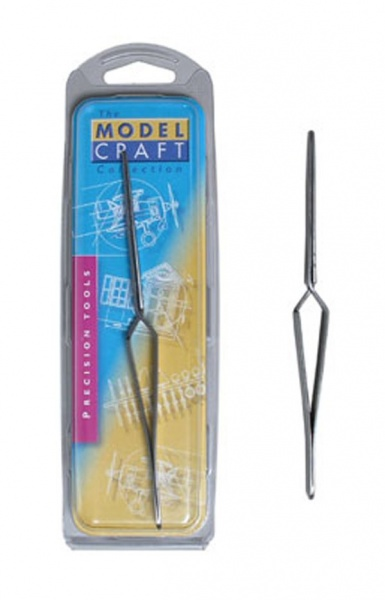 REVERSE ACTION BLUNT END TWEEZERS
