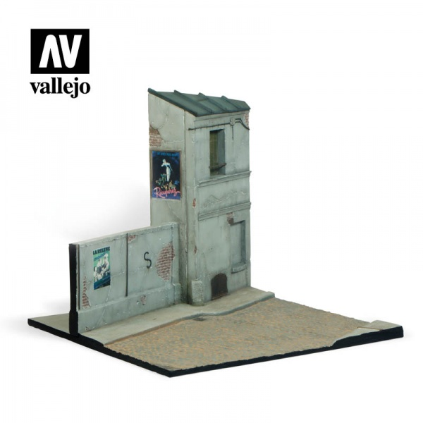 SC108 Vallejo Scenics: French Street, 24x23x21, 1:35 SCALE