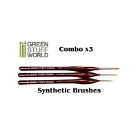 Synthetic Brushes COMBO, 3x