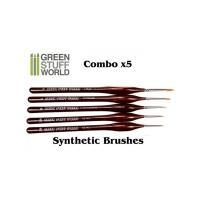 Synthetic Brushes COMBO, 5x