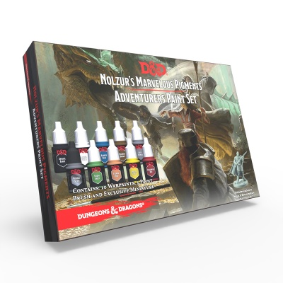 DnD Adventurers Paint Set