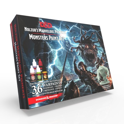 DnD Monsters Paint Set