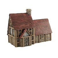 Money Lender's House by Conflix, Prepainted, 28mm Scale