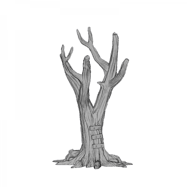 Tree Trunk 2, 140mm, Suitable for 28mm gaming