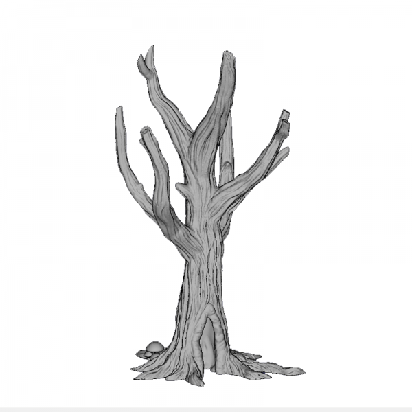 Tree Trunk 5, 140mm, Suitable for 28mm gaming