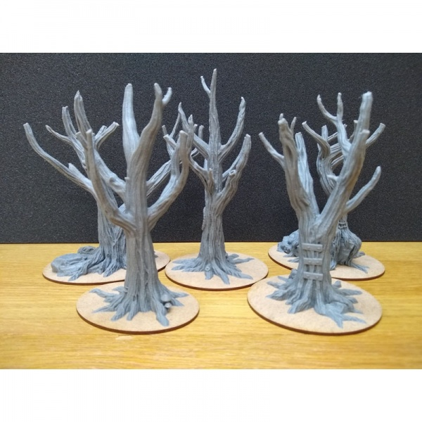 Tree Trunk Collection, 130-155mm, Suitable for 28mm gaming
